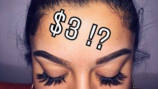 DIY INEXPENSIVE EYELASH EXTENSIONS 💋| 2017