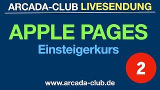 Pages Einsteigerkurs LIVE Teil 2