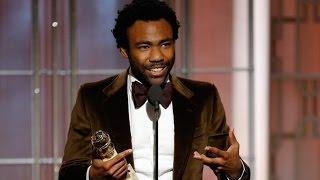Donald Glover Wins Best Actor Award For 'Atlanta' At 2017 Golden Globes