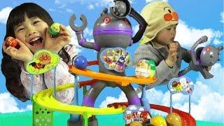 アンパンマン ころがれ!ぱっくんコロロン だだんだん おもちゃ anpanman toy セガトイズ thumbnail