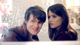 The Doctor meets modern Clara - Doctor Who - The Bells of St John - Series 7 - BBC