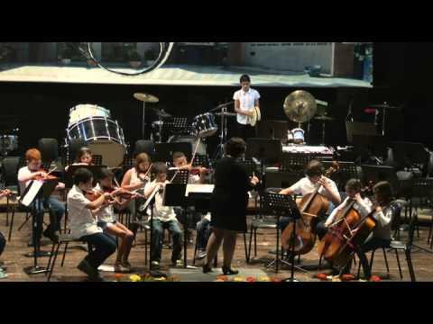 Beginning String Orchestra: Ness Ziona Conservatory קונסרבטוריון נס ציונה
