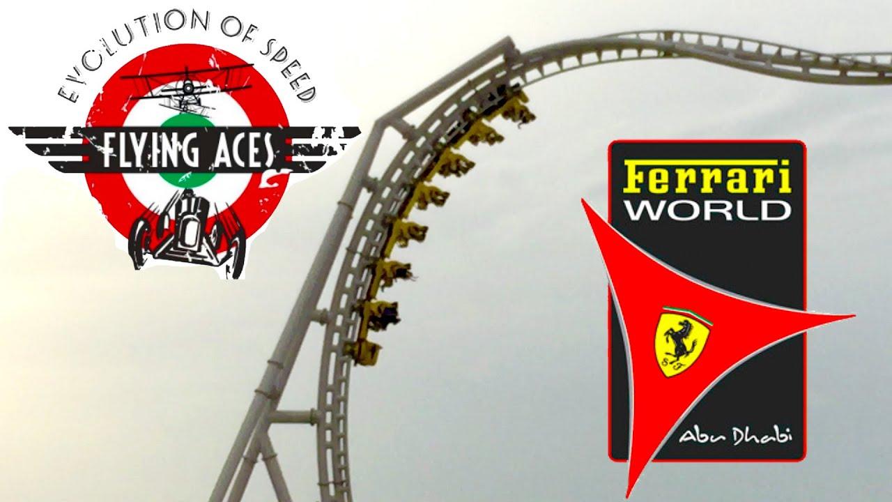 Ferrari World Abu Dhabi Neuheit 2016 Intamin Wing Coaster Flying Aces Seite 3 Parkerlebnis De Freizeitpark Forum