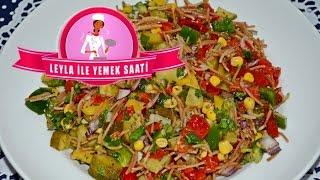 Tel Şehriye Salatası - Salat mit Fadennudeln