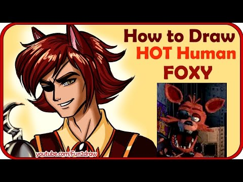 How to Draw a Human Foxy