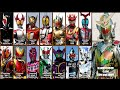 Kamen Riders Final Forms Themes (2000-2014) video