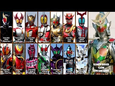 Kamen Riders Final Forms Themes (2000-2014) - YouTube