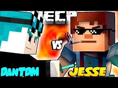 Thediamondminecart Dantdm Vs Jesse Minecraft Story Mode Season 2