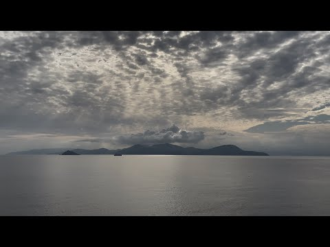 Piombino 4K walkaround Italy, Toscana! Elba Island