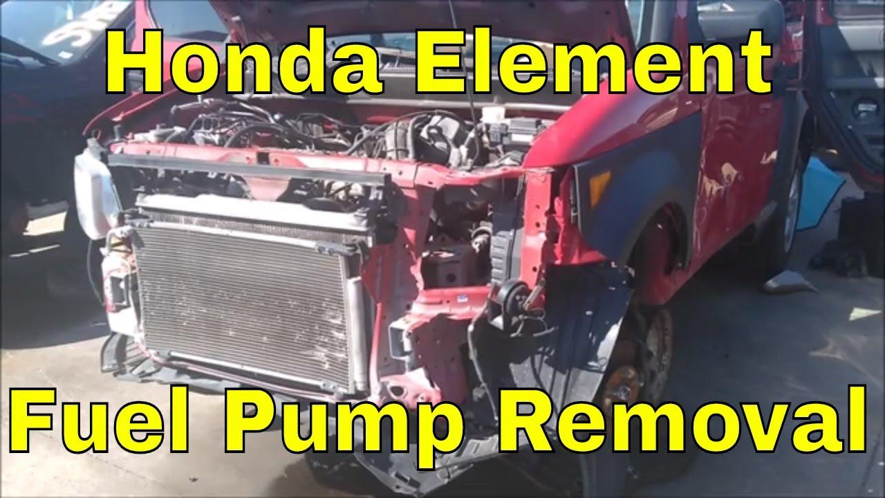 [DIAGRAM_5NL]  Honda Element Fuel Pump Removal - YouTube   2004 Honda Element Fuel Filter      YouTube