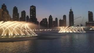Zpívající fontána - Dubaj