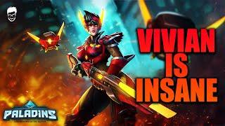 PALADINS VIVIAN IS INSANE! | Paladins Gameplay