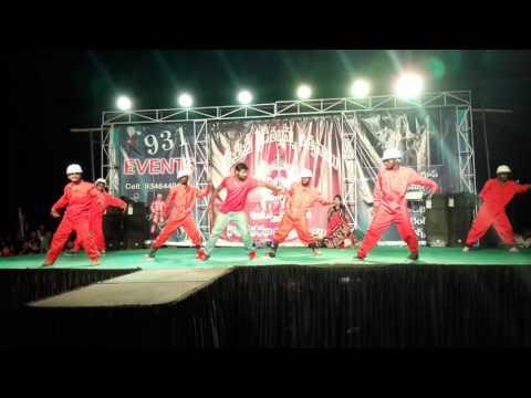 Expres raja hulala dance video song from vizag ☆☆☆KING CHERRY CHARAN ☆☆☆