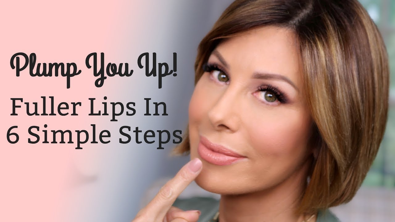 [VIDEO] - Plump You Up! Fuller Lips in 6 Simple Steps | Dominique Sachse 1