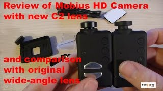Review of the Mobius HD camera with C2 wide-angle lens - supplied by Banggood.com