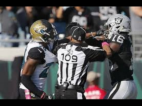 NFL Ejections 2016-2017 ᴴᴰ