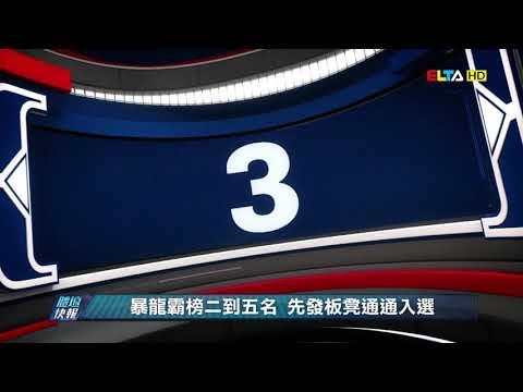 愛爾達電視20190603│【NBA好球】暴龍霸榜二到五名 先發板凳通通入選