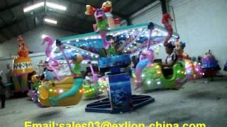 Exlion Theme park amusement entertainment equipment ocean walking rides-Camille