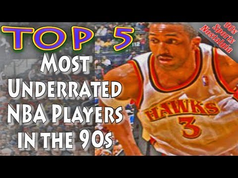 Top 5 Most Underrated NBA Players in the 90s