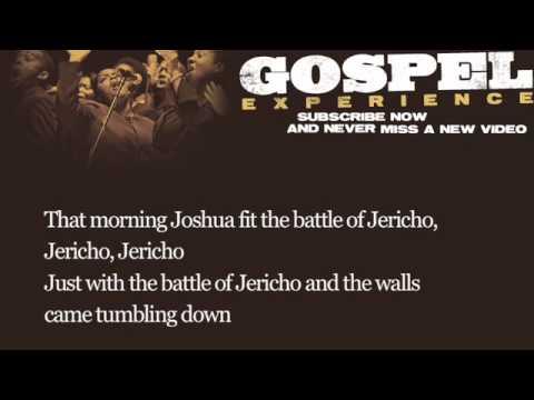 Josh White - Joshua Fit the Battle of Jericho (Lyrics)