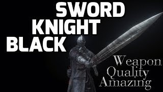 Dark Souls 3 Black Knight Sword - Amazing Quality Weapon