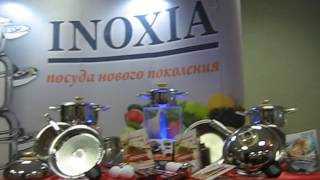 Я на презентации посуды INOXIA
