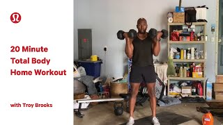 20 Minute Resistance Workout with Troy Brooks | lululemon