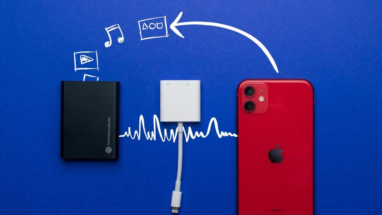 İPhone Hafıza Derdine Son !!!! | (İPhone İçin USB Bellek (OTG) Kutu Açılımı !!!!)