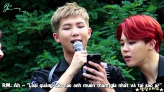 [Vietsub-Bangtan Boys]150705 HYYH Fanmeeting -  Rap Monster`'s Q&A MP3