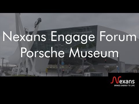 Nexans Engage Forum at Porsche Museum in Stuttgart