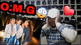 Ariana Grande Surprises TNT Boys f/ 'The World's Best' | REACTION