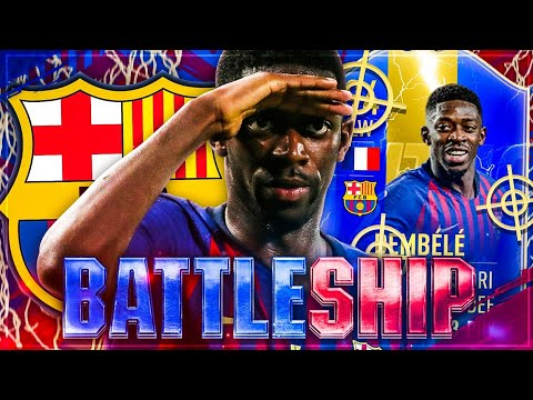 Full SPECIAL Card TOTS DEMBELE BATTLESHIP WAGER 🚿🚨 FIFA 19
