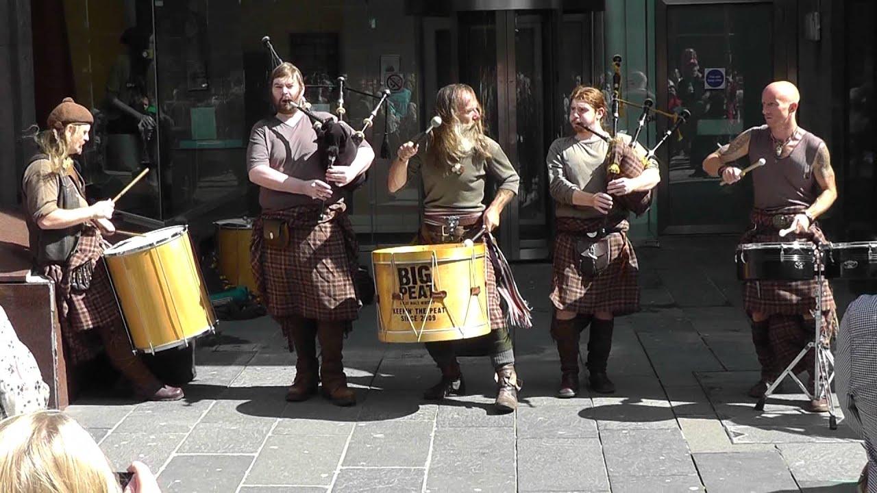Bagpipe Musica Celtica Glasgow 2011 Clanadonia Hamsterheid Panasonic Sd90 Full Hd Youtube