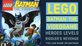 Lego Batman: The Video Game - Let's Play - You Can Bank on Batman