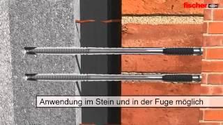 Дистанционный крепеж Fischer VBS(Профессиональное восстановление фасадов с помощью крепежа Fischer VBS. Дистанционный крепеж Fischer VBS позволяет..., 2013-10-25T08:48:11.000Z)