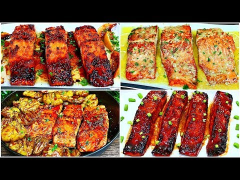 5 Easy Salmon Recipes To Die For!!!