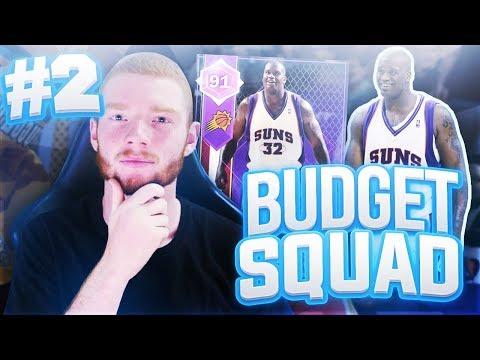 BUDGET SQUAD #2 - MOST INTENSE GAME!! NBA 2K18 MYTEAM!