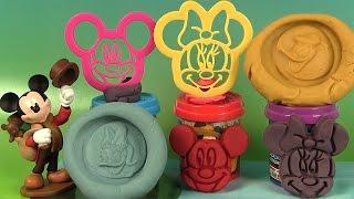 Mickey Mouse Clubhouse Dough Kit Pâte à modeler de Mickey et ses amis