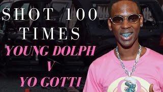 Shot 100 Times - Young Dolph v Yo Gotti