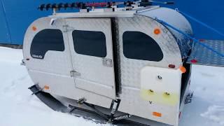 сани для снегохода с отоплением вебасто