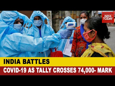 Corona: India's Covid Count At 74,281, Death Toll At 2,415; Maharashtra Worst-Hit With 24,427 Cases
