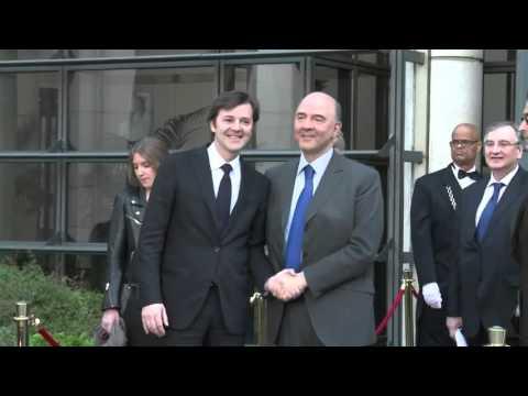 François Baroin & Pierre Moscovici à HEC Débats