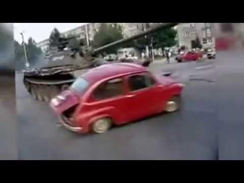 crveni fićo 27.06.'91.g, Osijek