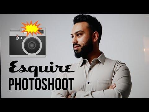 My ESQUIRE MAGAZINE Photoshoot in DUBAI !!!