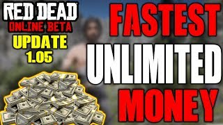 *NEW* Red Dead Online UNLIMITED MONEY TRICK AFTER UPDATE 1.05 | Make Money Super Fast & Easy