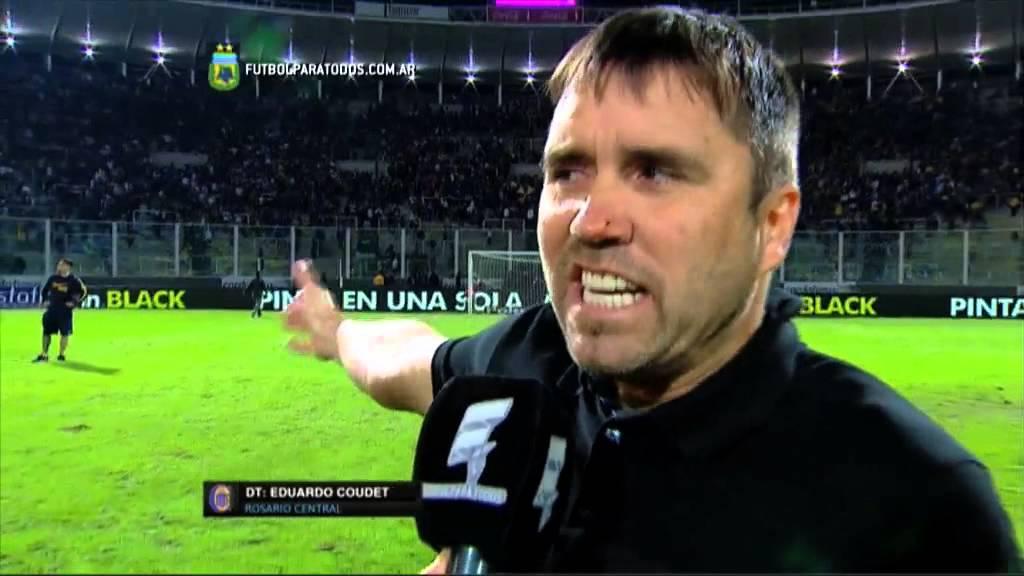 """Coudet: """"Nos Robaron La Final"""". Central 0"""