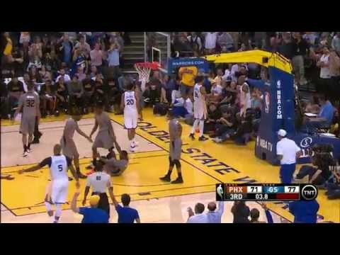 Barbosa Scores Circus Layup, Curry Dances the Salsa