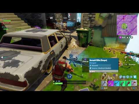 Old Fortnite - 16 kill Victory Royale Squads September 2017