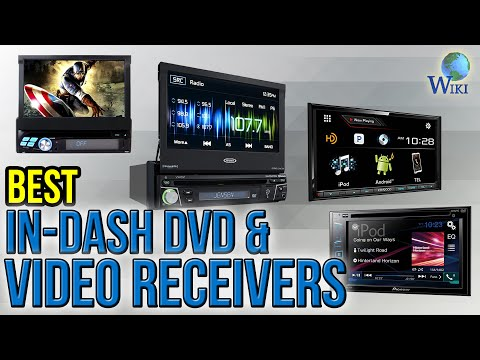 7 Best In-Dash DVD & Video Receivers 2017