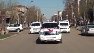 Свадебный клип .Акан & Азиза . г Кокшетау 28 04 2017